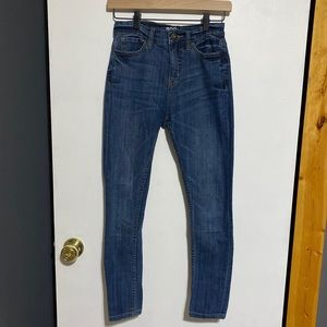 BDG Twig Grazer High-Waisted Skinny Ankle Jeans 24